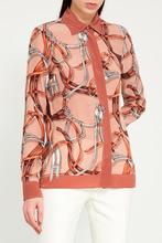 GUCCI | Удлиненная блузка с принтом | Clouty