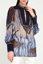 GUCCI | Блузка со смешанной отделкой | Clouty