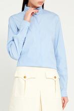 GUCCI | Блузка с воротником-стойкой | Clouty