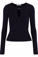 Derek Lam 10 Crosby | Derek Lam 10 Crosby Woman Ribbed-knit Wool Sweater Black Size S | Clouty