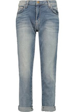 Current/Elliott | Current/elliott Woman The Fling Distressed Boyfriend Jeans Light Denim Size 25 | Clouty