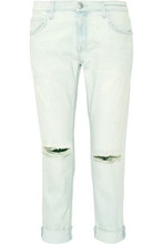 Current/Elliott | Current/elliott Woman The Fling Mid-rise Slim Boyfriend Jeans Light Denim Size 26 | Clouty