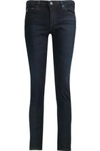 AG Jeans | Ag Jeans Woman High-rise Slim-leg Jeans Dark Denim Size 24 | Clouty