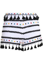 Dodo Bar Or | Dodo Bar Or Woman Embellished Cotton-gauze Shorts White Size S | Clouty