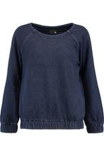 AG Jeans | Ag Jeans Woman Cotton-jersey Sweatshirt Storm Blue Size M | Clouty