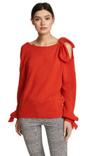 Derek Lam 10 Crosby | Derek Lam 10 Crosby Cashmere Sweater with Tie Detail | Clouty