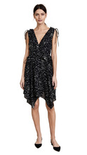 Derek Lam 10 Crosby | Derek Lam 10 Crosby Sleeveless V Neck Ruffle Dress | Clouty