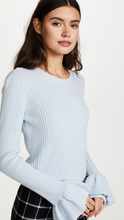 Derek Lam 10 Crosby | Derek Lam 10 Crosby Sweater With Ruffle Sleeves | Clouty