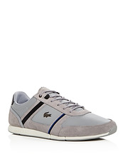 Lacoste | Lacoste Men's Menerva Leather & Suede Lace Up Sneakers | Clouty