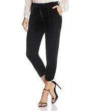 PARKER | Parker Devlin Ruched Velvet Crop Pants - 100% Exclusive | Clouty