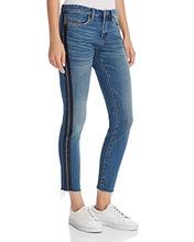 Blank NYC   Blanknyc Glow Away Striped Skinny Jeans in Blue   Clouty