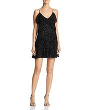 PARKER | Parker Athens Burnout-Velvet Leopard-Pattern Mini Dress | Clouty
