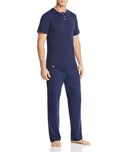 Lacoste   Lacoste Lounge Tee and Pants Gift Set   Clouty