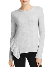 Derek Lam 10 Crosby | Derek Lam 10 Crosby Asymmetric Ruffle Sweater | Clouty