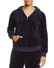 Juicy Couture   Juicy Couture Black Label Robertson Velour Zip Hoodie - 100% Exclusive   Clouty