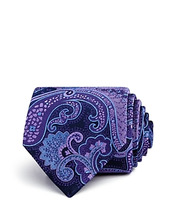The Men's Store At Bloomingdale's | The Men's Store at Bloomingdale's Paisley Woven Classic Tie - 100% Exclusive | Clouty