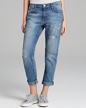 Current/Elliott | Current/Elliott The Fling Boyfriend Jeans in Super Loved Destroy | Clouty