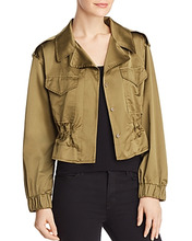 Milly | Milly Taffeta Tech Jacket | Clouty
