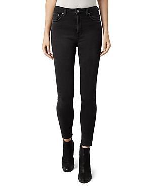 AllSaints   Allsaints Stilt Skinny Jeans in Dark Grey   Clouty