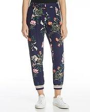 PARKER | Parker Manolo Floral Print Silk Pants | Clouty