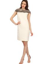 Bally | Платье Из Шерсти, Шёлкового Газа И Кожи Питона | Clouty