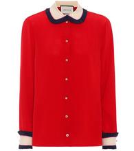 GUCCI | Silk crepe de chine blouse | Clouty