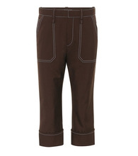 Chloé | Wool-blend cropped trousers | Clouty