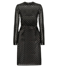 Tom Ford | Perforated leather dress | Clouty