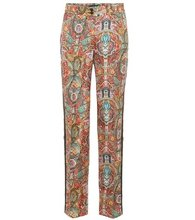 Etro | Printed silk trousers | Clouty