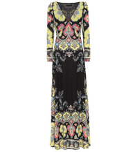 Etro | Printed jersey gown | Clouty