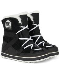 Sorel   Glacy Explorer Shortie suede boots   Clouty