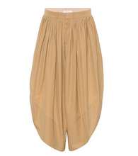 Chloé | Pleated cotton culottes | Clouty