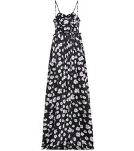 Balenciaga | Floral-printed silk jacquard dress | Clouty