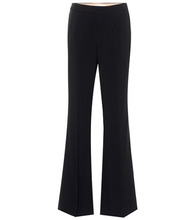Chloé | Wide-leg crepe trousers | Clouty