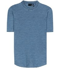 AG Jeans | Cone striped cotton T-shirt | Clouty