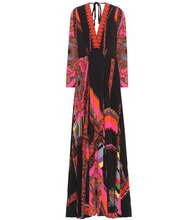 Etro | Printed maxi dress | Clouty