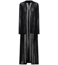 RICK OWENS | Long alpaca-blend cardigan | Clouty