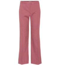 Isabel Marant Étoile | Oxy linen-blend cropped trousers | Clouty