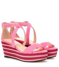 Jimmy Choo | Portia 70 wedge sandals | Clouty