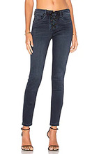 Blank NYC   Узкие джинсы со шнуровкой спереди - BLANKNYC   Clouty