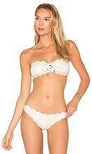 Marysia Swim | Топик бикини с металликом на шнуровке antibes - Marysia Swim | Clouty