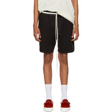 Fear Of God | Fear of God Black Heavy Terry Sweatshorts | Clouty