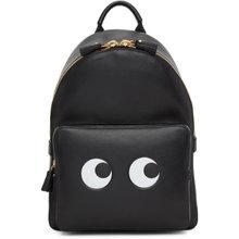 Anya Hindmarch | Anya Hindmarch Black Mini Eyes Right Backpack | Clouty