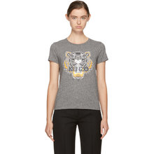 KENZO | Kenzo Grey Tiger T-Shirt | Clouty