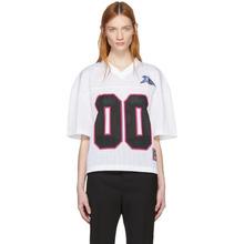 Off-White | Off-White White Mesh T-Shirt | Clouty