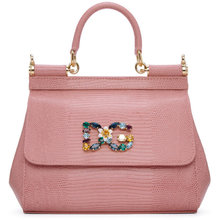 Dolce & Gabbana | Dolce and Gabbana Pink Small Miss Sicily Bag | Clouty