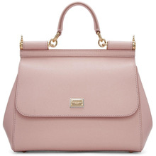 Dolce & Gabbana | Dolce and Gabbana Pink Medium Miss Sicily Bag | Clouty