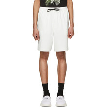Y-3 | Y-3 White PU Shorts | Clouty