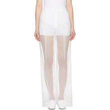 GIVENCHY | Givenchy White Tulle Trousers | Clouty