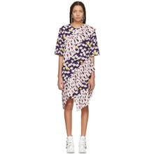 KENZO | Kenzo Multicolor Ruffled Tee Dress | Clouty